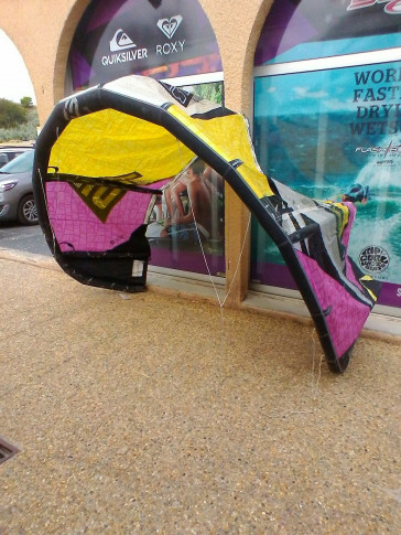 Aile Best Kiteboarding TS 7 m² 2014 d'occasion complète