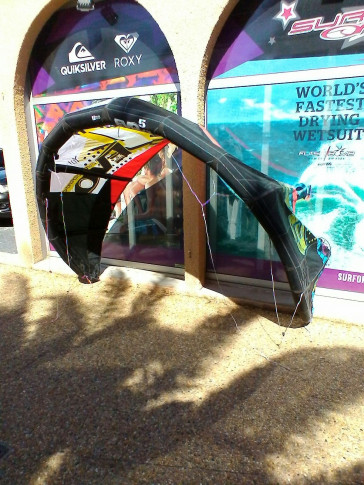 Aile North Kiteboarding EVO 5 m² 2011 d'occasion nue