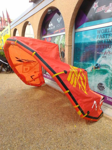 Aile North Kiteboarding evo 7 m² 2014 d'occasion nue