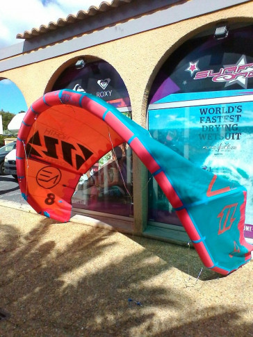 Aile de kite d'occasion North Kiteboarding NEO 8 m² 2015 nue