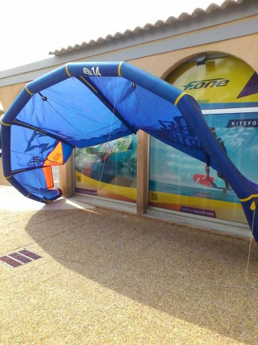 Aile North Kiteboarding Rebel 14 m² 2013 d'occasion nue