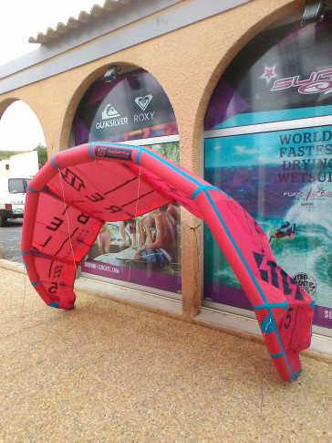 Aile de kite d'occasion North Kiteboarding REBEL 5 m² 2016 nue