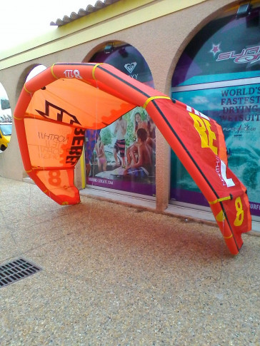 Aile North Kiteboarding REBEL 8 m² 2014 d'occasion nue