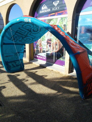 Aile North Kiteboarding VEGAS 6 m² 2015 d'occasion nue