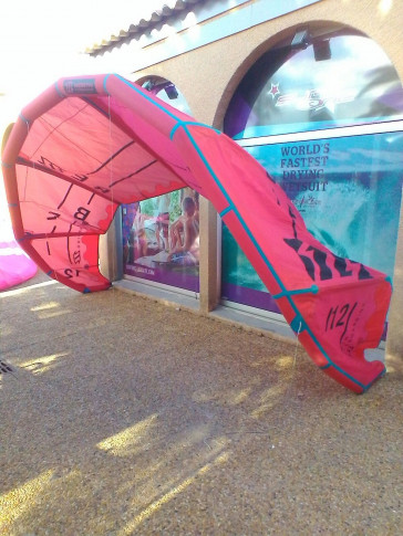 Aile North Kiteboarding REBEL 12 m² 2016 d'occasion nue