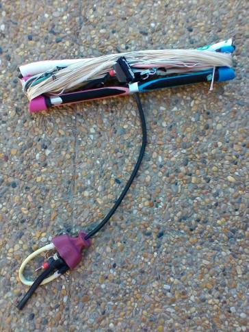 Barre de kitesurf RRD V4 24 2012 d'occasion