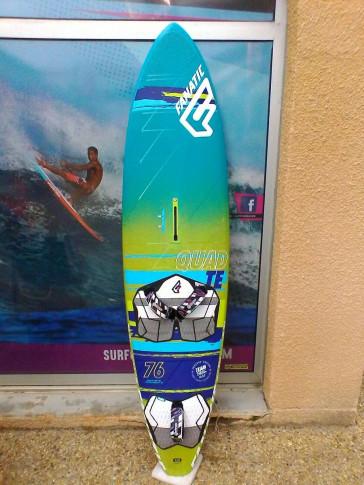 planche de Windsurf occasion Fanatic QUAD 76L 2015