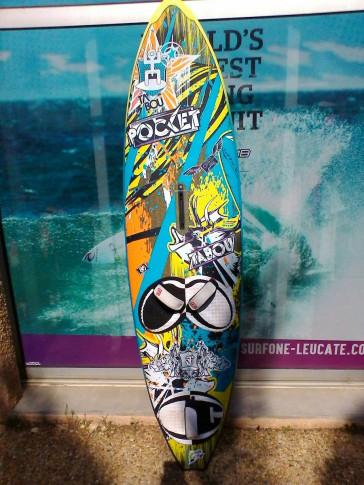 planche de Windsurf occasion Tabou POCKET 80L 2014