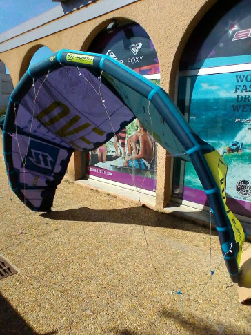 Aile North Kiteboarding EVO 6 m² 2016 d'occasion nue