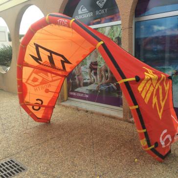 aile de kitesurf occasion Northkites evo 6m² nue 2014
