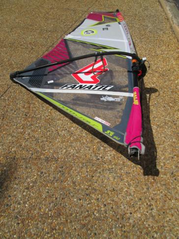 voile de windsurf occasion North Sails Grom 2.5m² 2014