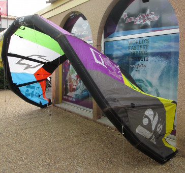 North kiteboarding Fuse 12m²  2012 complète occasion aile de kitesurf