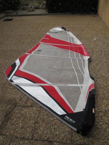 windsurf occasion Gun Sails wave mc 4.2m² 2006