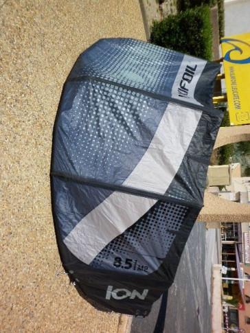 Flexifoil Ion 5 8.5 m² complète 2012 aile de kitesurf occasion