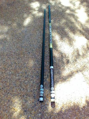 Mat de Windsurf North Blacklabel BLACKLABEL SERIES d'occasion 430 cm
