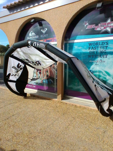 Aile North Kiteboarding REBEL 7 m² 2010 d'occasion nue