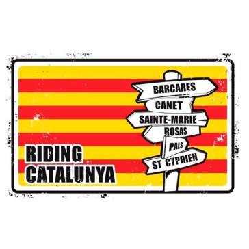 Plaque Déco Surf Pistols Riding Catalunya