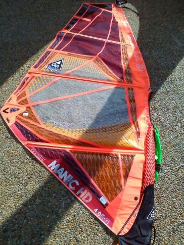 Voile de windsurf Gaastra MANIC HD 4.0 m² 2015 d'occasion