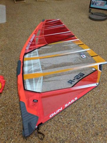 Voile de windsurf Gun Sails GSR 5.6 m² 2016 d'occasion