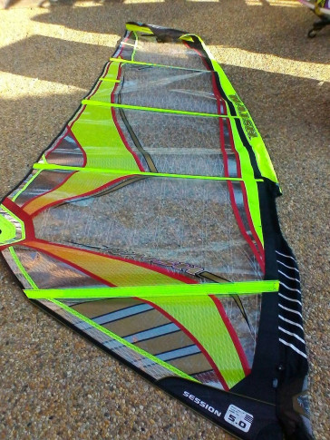 Naish SESSION 5.0 m² 2009 d'occasion