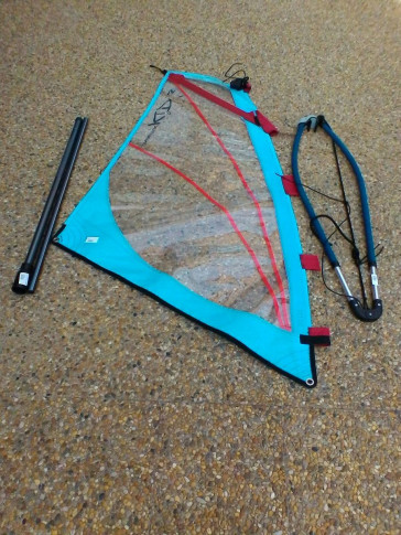 Voile de Windsurf Side On NAUTIX KIDS 2015