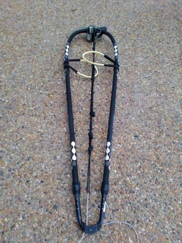 Wishbone Dynafiber ALUMINIUM 2012 - 140 cm d'occasion