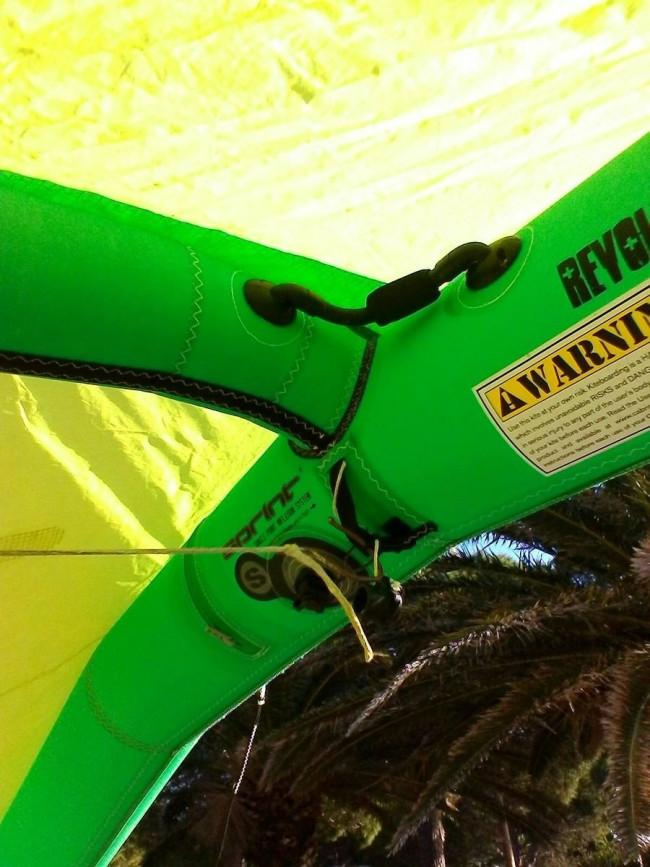 aile de kite d 39 occasion cabrinha revolver 9 m 2009 compl te. Black Bedroom Furniture Sets. Home Design Ideas