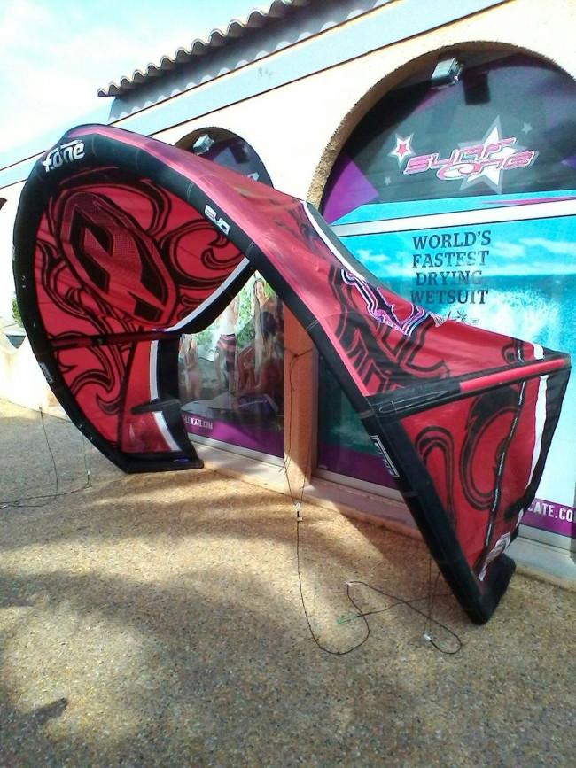 aile de kite d 39 occasion f one bandit iv 11 m 2011 compl te. Black Bedroom Furniture Sets. Home Design Ideas