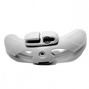 Duotone Plastic Backend with Cleat for Wish Red/Silver
