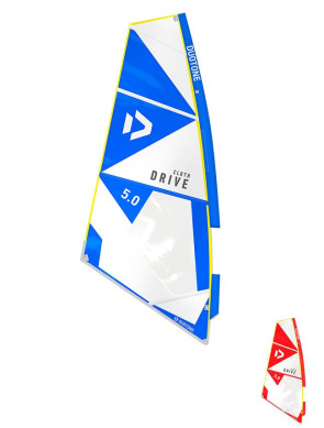 Voile de Windsurf Duotone Drive_Cloth 2021
