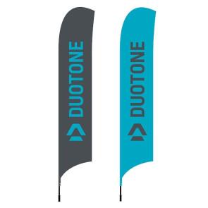 Drapeau de plage Duotone avec mât