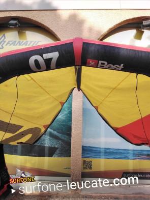 Aile Best Kiteboarding Roca 7 m² 2016 d'occasion nue