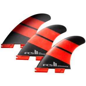 Ailerons FCS II Accelerator Neo Glass Tri Set