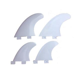 Ailerons Surfpistols FCS Quad fins