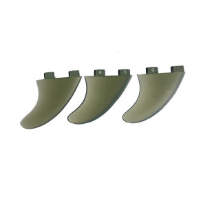 Ailerons Surfpistols Glass FCS Tri fins
