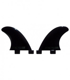 FCS G-L Glass Flex Black Side Set