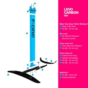Foil F-One Levo Carbon 900 V3 2022
