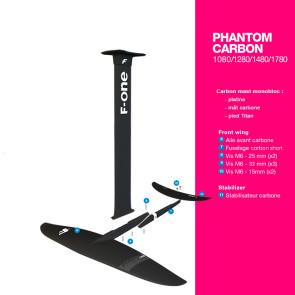 Foil F-One Phantom V3 2021 - Mât carbone