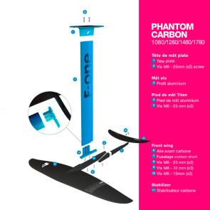 Foil F-One Phantom V3 2021 - Mât aluminium