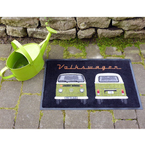 Paillasson VW T2 - Front And Back Green