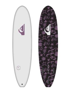 Surf en mousse Quiksilver Soft Break 2021 - Blanc