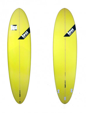 Planche de Surf Blackwings Color Tint Yellow Egg Funboard 7'2""