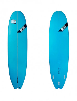 Planche de Surf Blackwings Color Tint Blue Fish Perf 7Up 7'4""