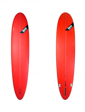Planche de Surf Blackwings Color Tint Red Longboard Alround 9'1""