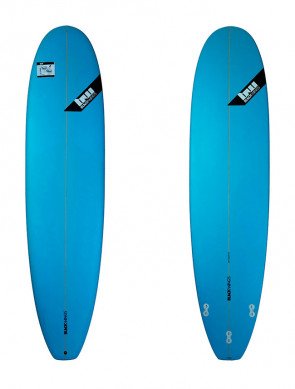 Planche de Surf Blackwings Color Tint Blue Mini-Malibu 8'
