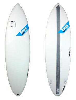 Surf Blackwings Shortboard Raven - Bleu