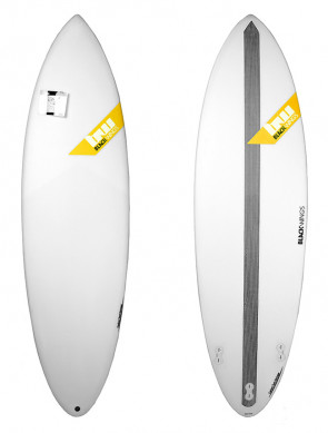 Surf Blackwings Shortboard Raven - Jaune