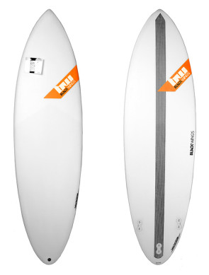 Surf Blackwings Shortboard Raven - Orange