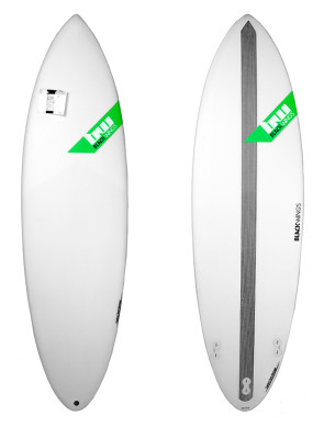 Surf Blackwings Shortboard Raven - Vert