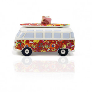 Tirelire VW T1 avec Surfboard - Bubble